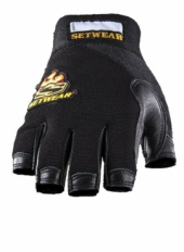 SETWEAR - LEATHER FINGERLESS GLOVE